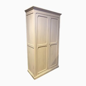 Vintage French Off-White Cupboard