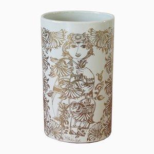 Jarrón de porcelana de Bjørn Wiinblad para Nymolle, años 60