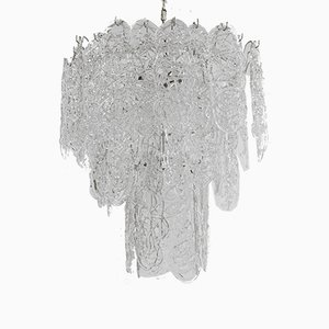 Murano Glass Chandelier from Venini, 1950s