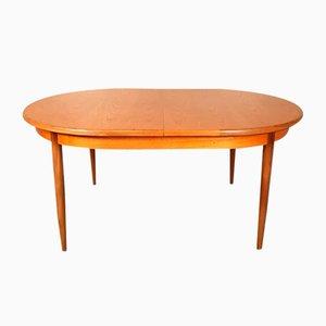 Mesa de comedor extensible vintage de teca de Victor Wilkins para G-Plan