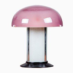 Lampada da tavolo vintage in vetro, Italia