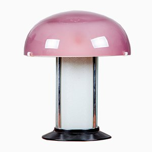Vintage Italian Glass Table Lamp