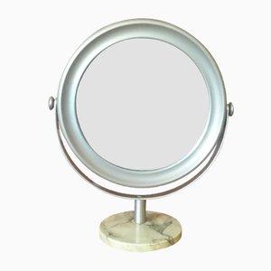 Specchio da tavolo di Sergio Mazza per Artemide, anni '60