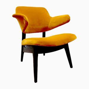 Vintage Dutch Armchair by Louis van Teeffelen for WéBé