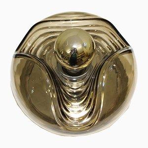 Lámpara de techo Wave de Koch & Lowy para Peill & Putzler, años 60