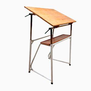 Vintage Industrial Drawing Table