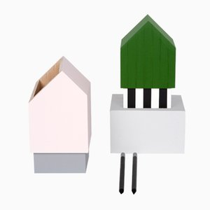 Sculture Floating Houses_01 di Eli Gutierrez per Mad Lab, 2018