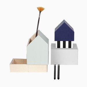 Sculture Floating Houses_02 di Eli Gutierrez per Mad Lab, 2018