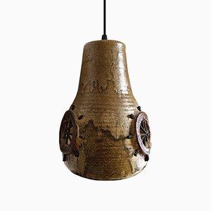 Lámpara colgante vintage de cerámica