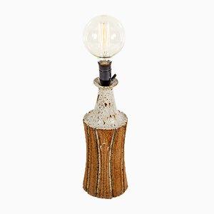 Lámpara de mesa danesa Mid-Century de cerámica