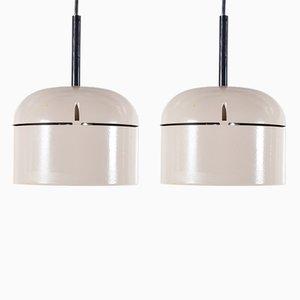 Vintage Pendant Lamps by Staff Leuchten, Set of 2