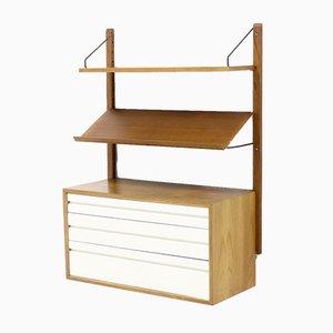 Libreria Royal System in teak di Poul Cadovius per Cado, anni '60