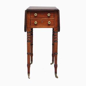 Antiker ausklappbarer Tisch aus Mahagoni, 1840