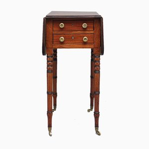 Antique Mahogany Drop Leaf Table, 1840