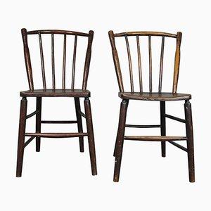 Antike irische Esszimmerstühle, 1820, 2er Set