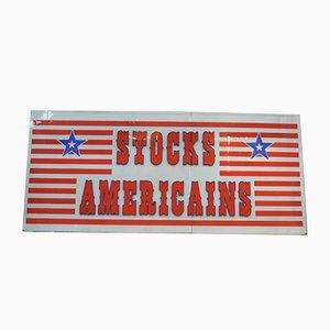 Enseigne American Stock Store Vintage, 1970s