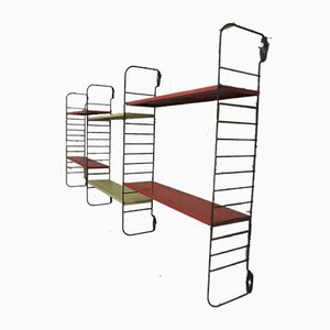Vintage Metal Modular Shelving Unit, 1970s