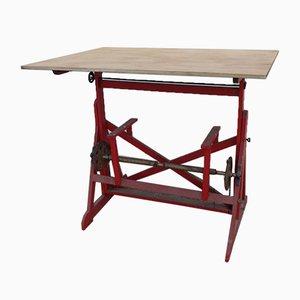 Table à Dessin d'Architecte Vintage