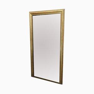 Espejo grande dorado, década de 1900