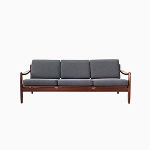 Ausziehbares Mid-Century Sofa, 1960er