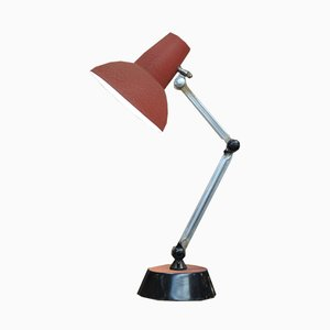 Adjustable Metal Desk Lamp, 1960s