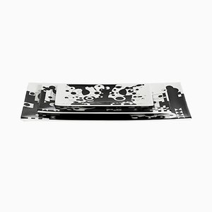 Jongleur Tabletts aus Knochenporzellan von Kostas Neofitidis für Kota, 3er Set