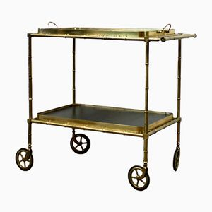 Brass Drink Trolley, 1930s