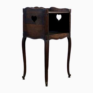 Wooden Nightstand, 1940s