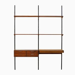 Mid-Century Rosewood Wall Unit by Kai Kristiansen for FM Møbler, 1950s