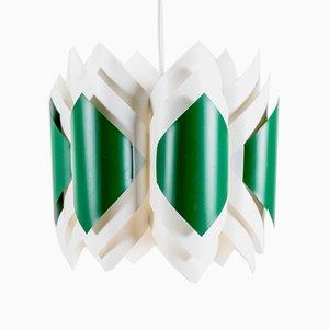 Lámparas colgantes vintage de Lars Schiøler para Hoyrup, años 60. Juego de 2