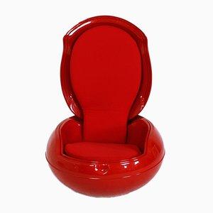 Vintage Garden Egg Chair von Peter Ghyczy für VEB Synthese Werk