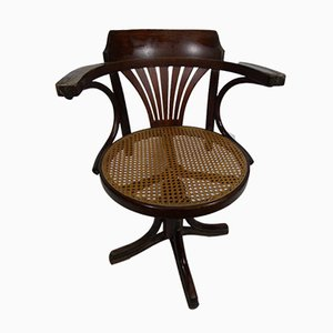 Vintage Swivel Armchair from Thonet