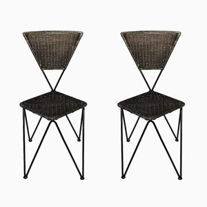 Mid-Century Austrian Chairs by Karl Fostel Senior's Erben from Sonett-Serie, Set of 2