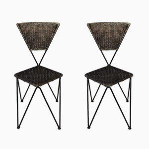Österreichische Mid-Century Stühle von Karl Fostel Senior's Erben von Sonett-Serie, 2er Set