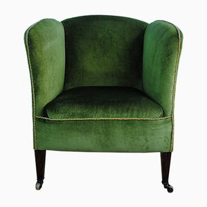 Antique English Lounge Chair, 1880s