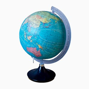 Vintage Illuminating Globe from Taride