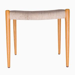 Model 80a Oak Stool by Niels Otto Møller for J.L. Møllers, 1960s