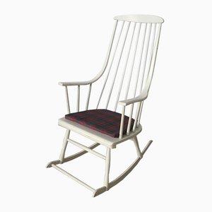 Rocking Chair Vintage par Lena Larsson pour Nesto, Suède, 1960s