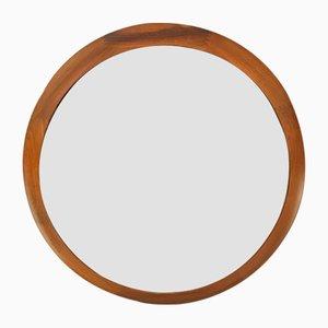 Espejo Mid-Century circular de Pedersen Hansen, años 60