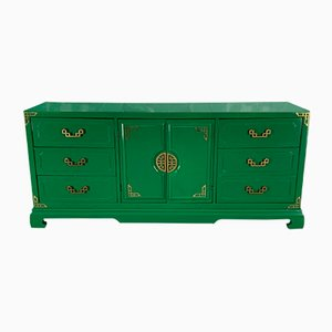 Chinoiserie Style 9-Drawer Dresser from Bassett, 1970s
