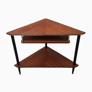 Petite Table d'Angle pour Téléphone Mid-Century