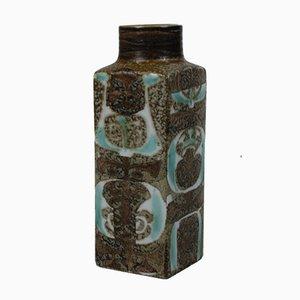 Vase Fajance Baca par Nils Thorsson pour Aluminia, 1970s