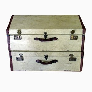 Vintage Suitcases, Set of 2