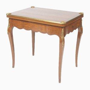 Tavolo da gioco Napoleone III antico