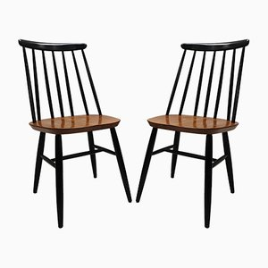 Dining Chairs by Ilmari Tapiovaara for Edsby Verken, 1950s, Set of 2