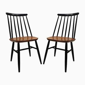 Esszimmerstühle von Ilmari Tapiovaara für Edsby Verken, 1950er, 2er Set