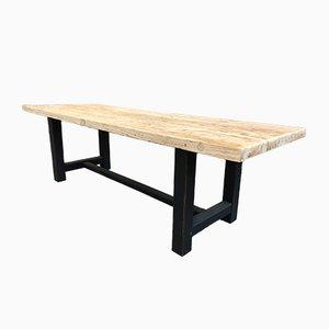 Vintage Elm Farmhouse Table