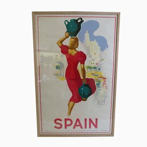 Cadaqués Poster by Josep Morell, 1940s