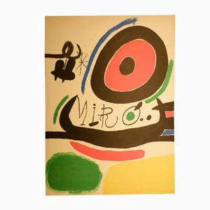Lithography by Joan Miro for Sala Gaspar, 1960s