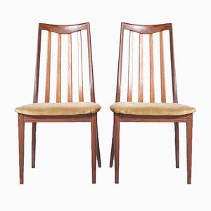 Esszimmerstühle von G-Plan, 1960er, 2er Set
